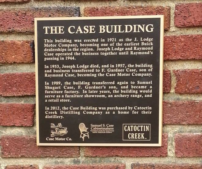 The Case Building Plaque