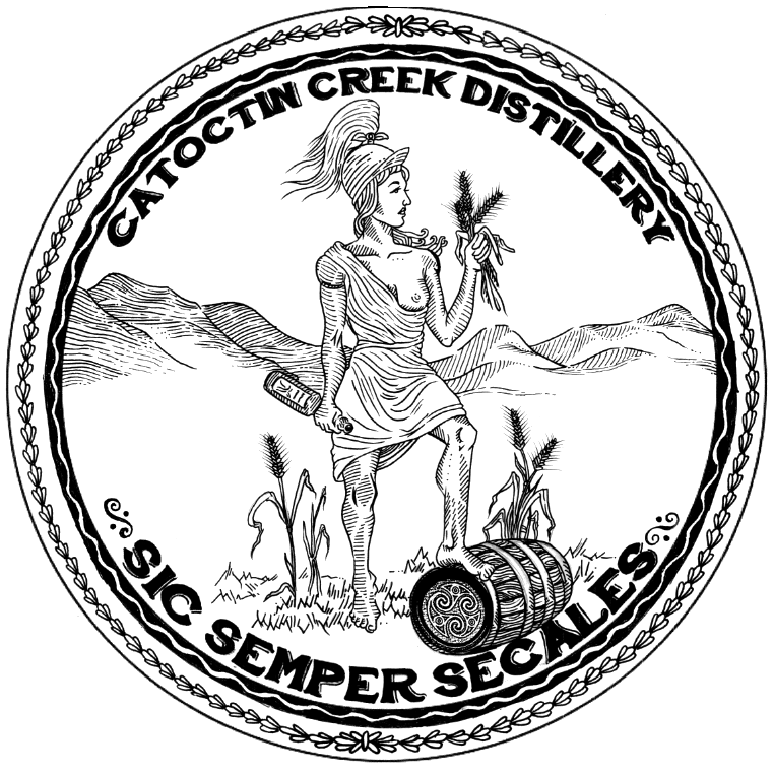 Great Seal of Catoctin Creek - SIC SEMPER SECALES