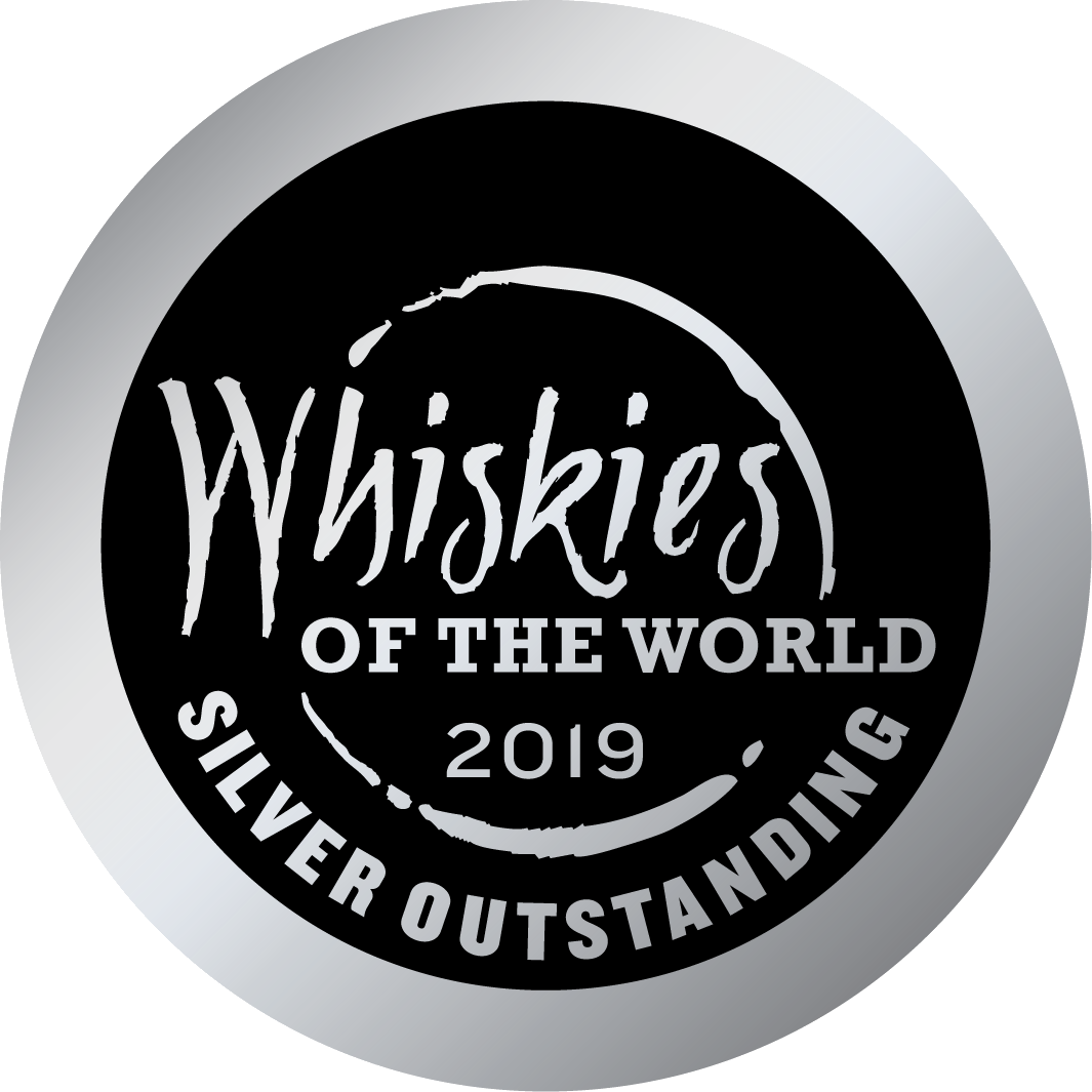 Whiskies of the World 2019 Silver Outstanding