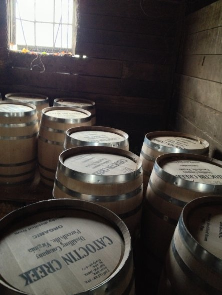 Barrels in Repose