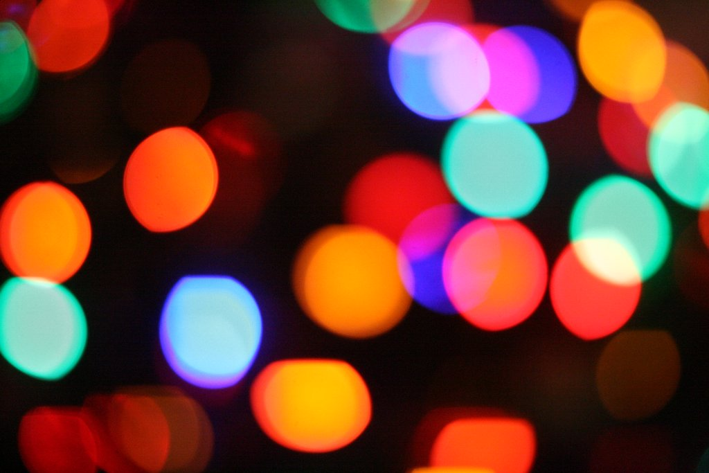 Christmas Bokeh by Scott Harris